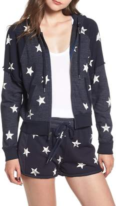 Splendid Star Zip-Up Hoodie