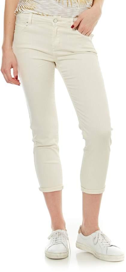 Jeans mit geradem Schnitt - naturfarben