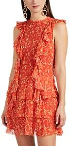 SIR The Label Women's Posey Floral Silk Minidress