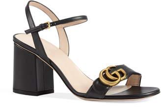 accc97af8f8 Gg Marmont Sandal - ShopStyle
