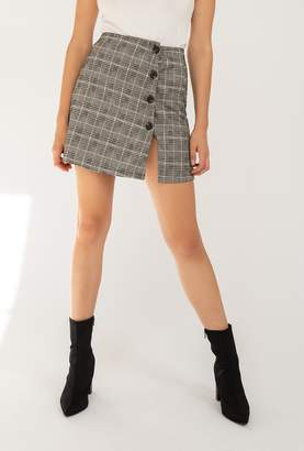 Azalea Plaid Skirt