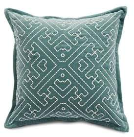 Lucky Brand Sashiko Square Decorative Pillow