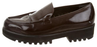 Robert Clergerie Leather Platform Loafers $100 thestylecure.com