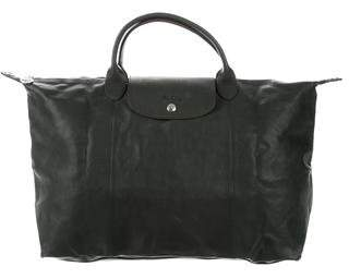 Longchamp Leather Satchel