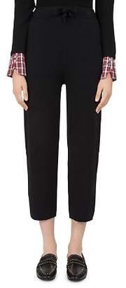 Gerard Darel Grace Knit Cropped Pants