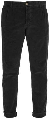 J.w.brine J.W. Brine J.w. Brine - New Marshall Straight Corduroy Trousers - Mens - Black
