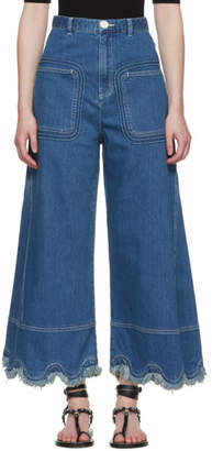 See by Chloe Blue A-Line Jeans