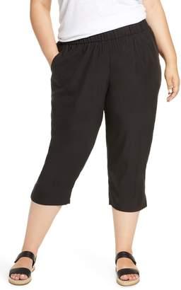 Eileen Fisher Slouchy Crop Pants