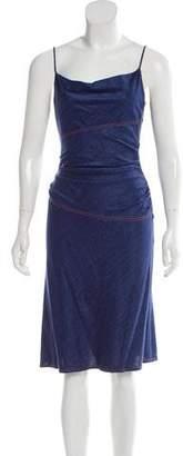 Diane von Furstenberg Sleeveless Chambray Dress