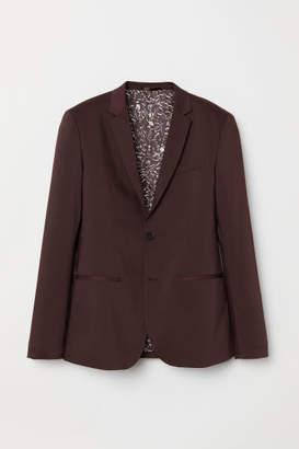 H&M Skinny Fit Blazer - Red