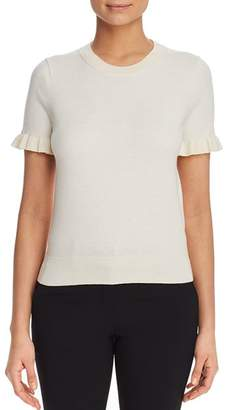 Kate Spade Ruffle-Trimmed Sweater