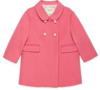 Gucci Baby wool double-breasted coat