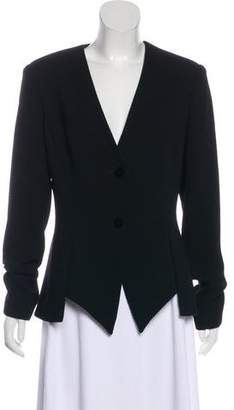 Cushnie et Ochs Wool Button-Up Jacket