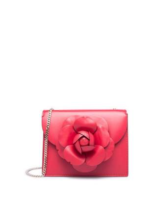Oscar de la Renta Ruby Leather Mini TRO Bag