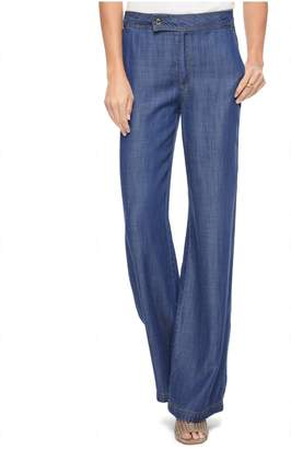 Juicy Couture (ジューシー クチュール) - Denim Indigo Tencel Wide Leg Pant
