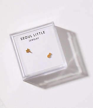 Lou & Grey Seoul Little Tropical Stud Earrings