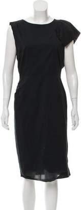 Dries Van Noten Asymmetrical Midi Dress