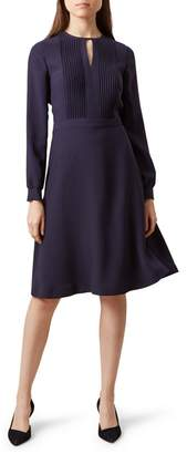 Hobbs Navy 'Angelica' Fit And Flare Dress