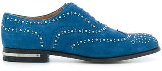 Church's embellished Burwood lace-up shoes