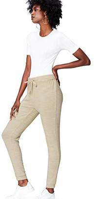 FIND Women's Super-Soft Jersey Joggers,(Manufacturer size: Large)