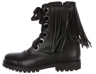 Zadig & Voltaire Leather Mid-Calf Boots