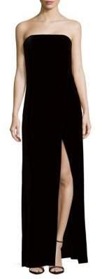ABS by Allen Schwartz Wrap Evening Gown