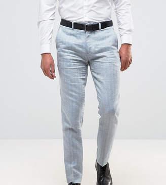 ONLY & SONS Skinny Suit Pant In Herringbone