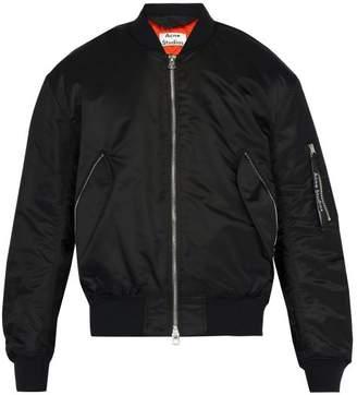Acne Studios Maiko Bomber Jacket - Mens - Black