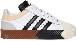 Skate Super Leather Low Top Sneakers