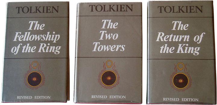 One Kings Lane Vintage Tolkien's Lord of The Rings, S/3