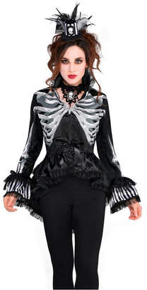 BuySeasons Women Skeleton Jacket Adult Costume