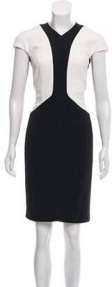 Narciso Rodriguez Short Sleeve Knee-Length Dress