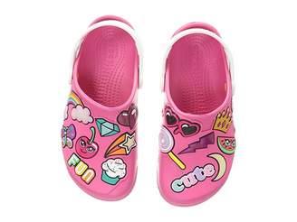 Crocs Fun Lab Playful Patches Clog (Toddler/Little Kid)