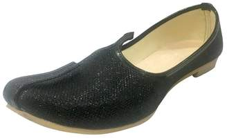 N. Step Style Mens Sherwani Shoes Punjabi Jutiis Pakistani Khussa Mens Nagra Mojari