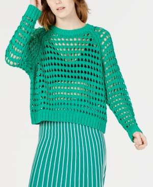 ASTR the Label Cameron Open-Knit Sweater