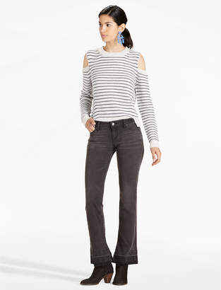 Lucky Brand LOLITA MID RISE CROPPED BOOT JEAN