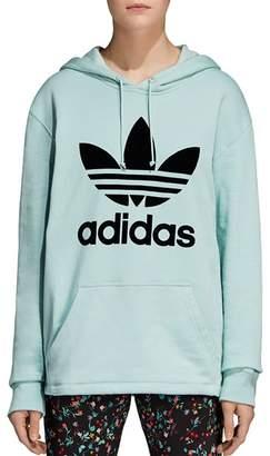 adidas Oversized Trefoil Hooded Sweatshirt