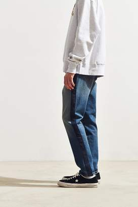 BDG Fracture Suede Side Tape Slim Jean