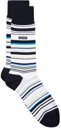 Calvin Klein Barcode Stripe Socks