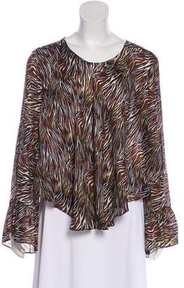 IRO Silk Long Sleeve Top
