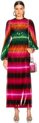 Valentino Stripe Dress in Multicolor | FWRD