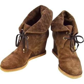Louis Vuitton Lace up boots
