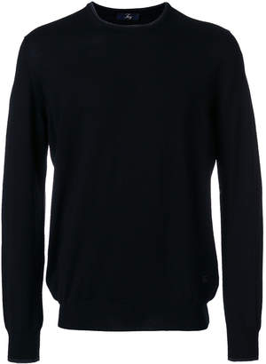 Fay classic knitted top