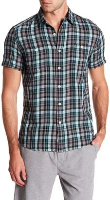 Grayers Redford Summer Slub Short Sleeve Twill Shirt