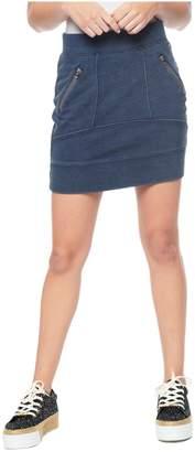 Juicy Couture Indigo Acid Wash Skirt