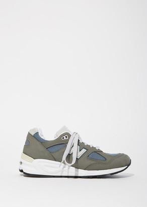 New Balance 990 Nubuck Mesh Sneakers $210 thestylecure.com