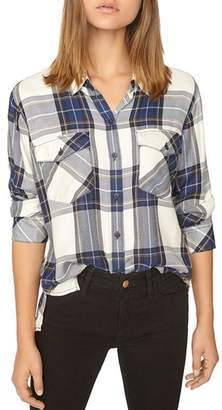 Sanctuary Boyfriend for Life Plaid Top