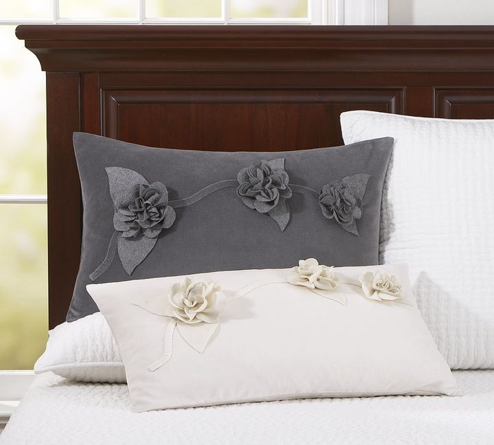 Paige Velvet Lumbar Pillow Cover