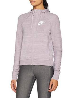 Nike W Nsw Av15 HD Knt, Women's Hooded jacket,Small