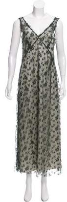 Marc Jacobs Lace Maxi Dress
